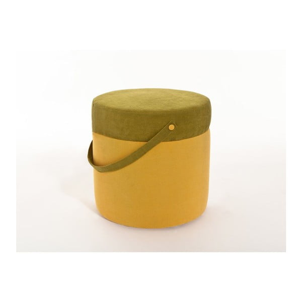 Puf Kovva Yellow/Green