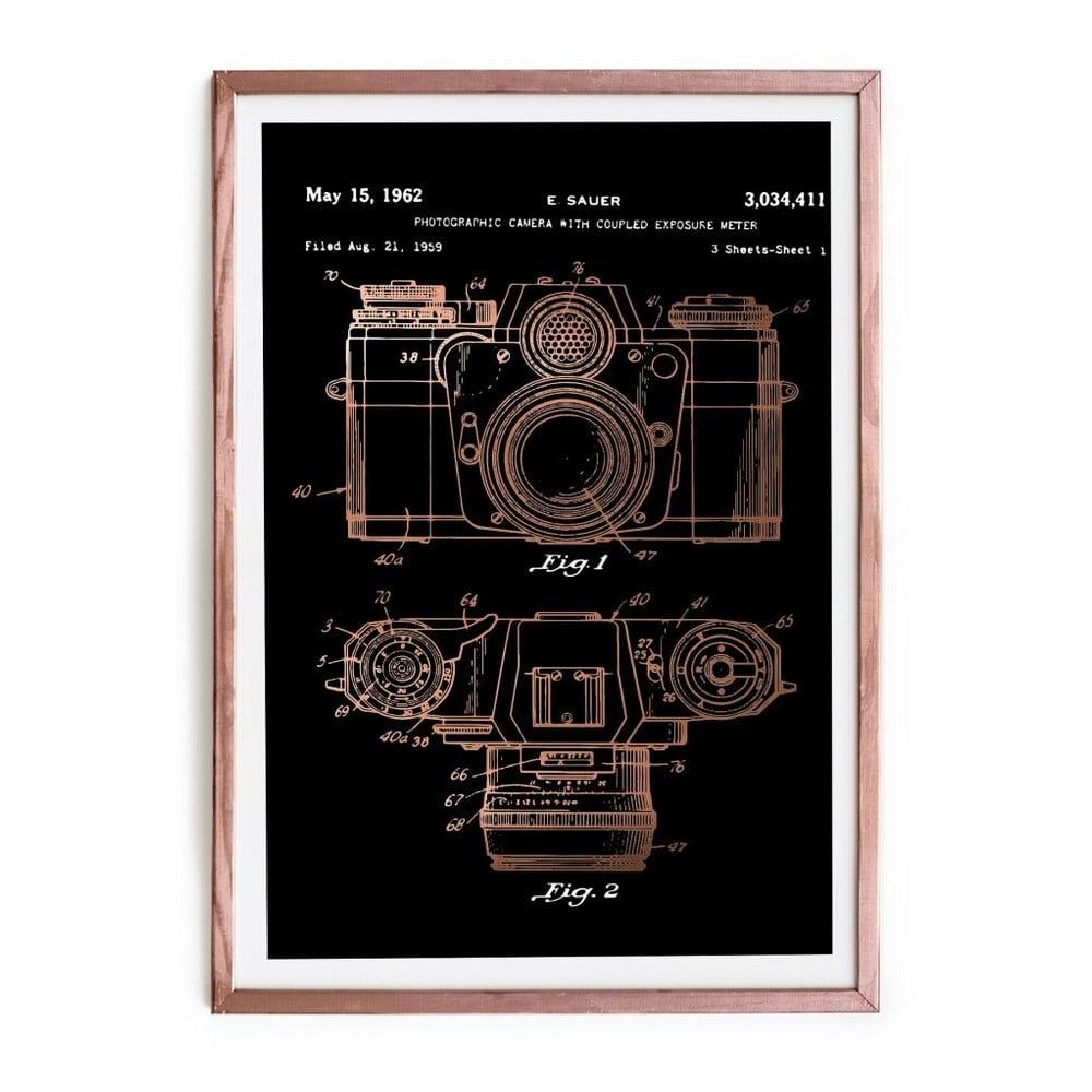 Zarámovaný plagát Really Nice Things Camera, 40 × 60 cm