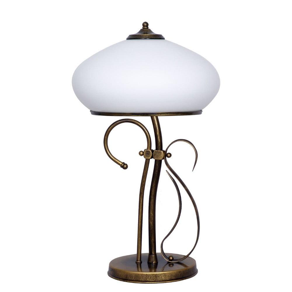 Stolová lampa Glimte Patina, výška 60 cm