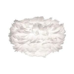 Biele tienidlo z husieho peria VITA Copenhagen EOS, Ø35 cm