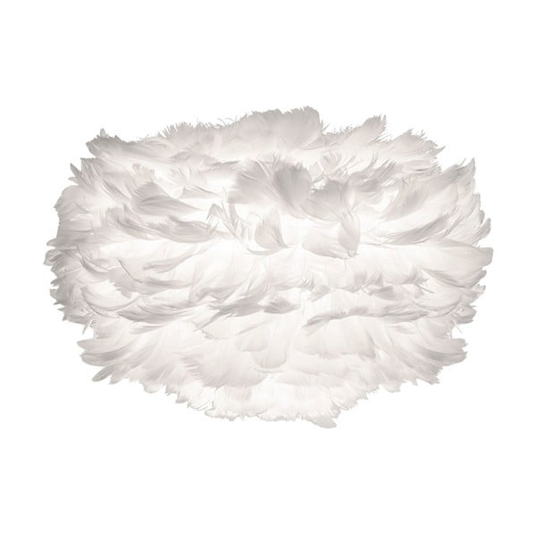 Biele svietidlo z husieho peria VITA Copenhagen EOS, Ø35 cm