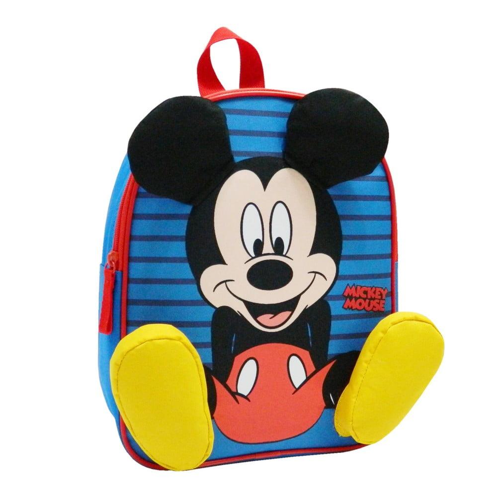 Modrý školský batoh Bagtrotter Mickey Mouse Happy