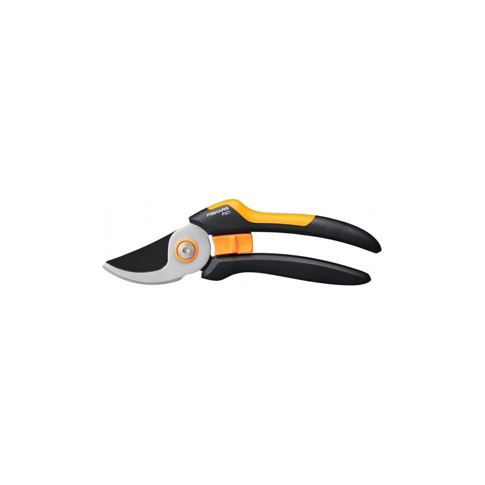 Čierne oceľové dvojsečné nožnice Fiskars Solid, dĺžka 26 cm