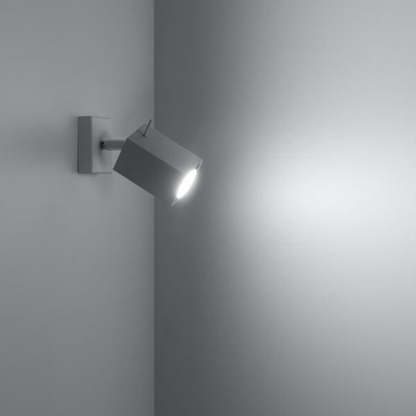 Biele nástenné svetlo Nice Lamps Toscana