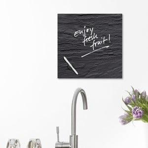 Magnetická tabuľa Black Slate, 30 x 30 cm