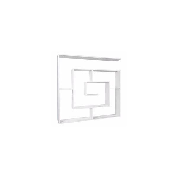 Knižné police Labyrint White
