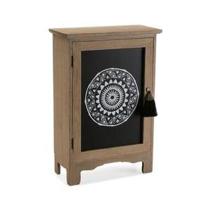 Drevená nástenná skrinka na kľúče Versa Door