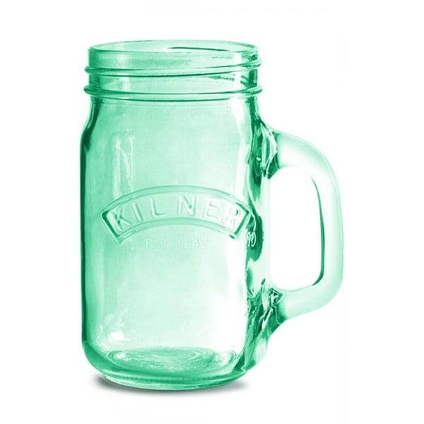 Fľaša s uškom Kilner, zelená