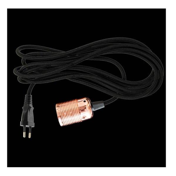 Textilný kábel ku svetlu Dan Lamp Copper, 3 metre