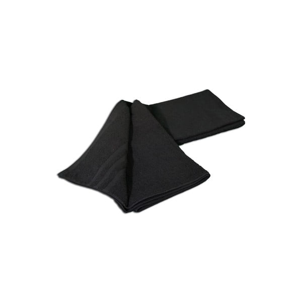 Osuška Sylt Black, 70x140 cm