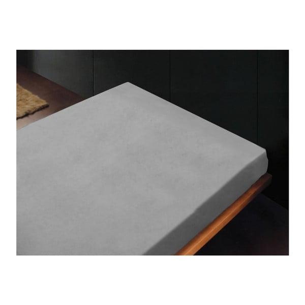 Neelastická posteľná plachta Lisos Piedra, 180x260 cm
