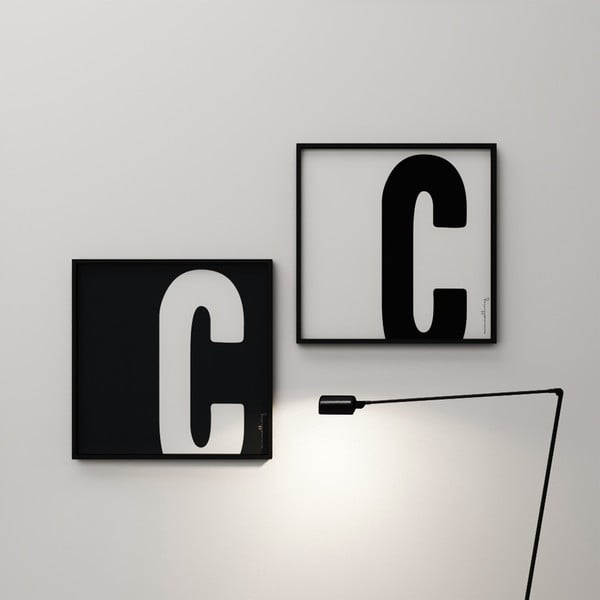 Plagát Litera C, 50x50 cm