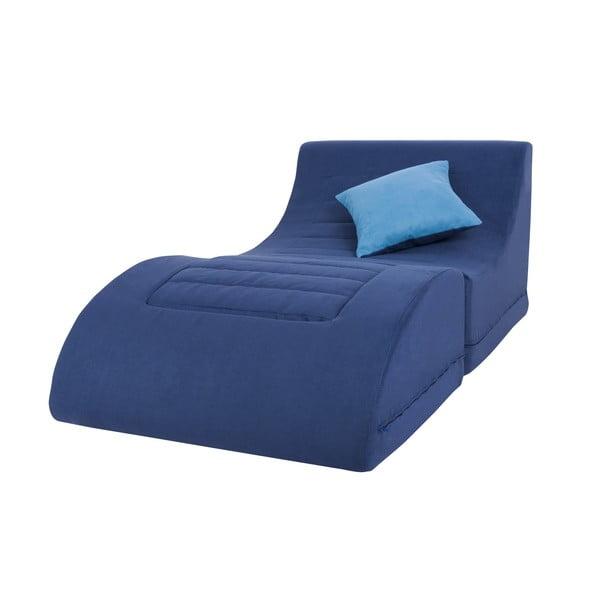 Kreslo a leňoška v jednom Brownie, modrá