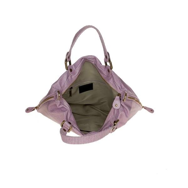 Kožená kabelka Ore Diece Affile, ružová
