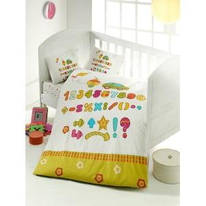 Set detských obliečok a plachty Abacus, 100x150 cm