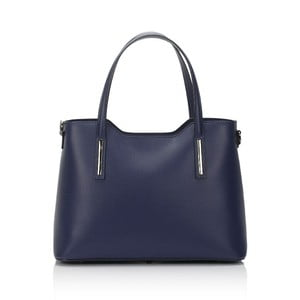 Modrá kožená kabelka Markese Terra