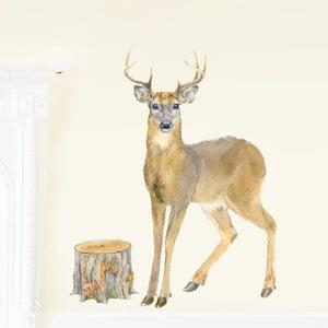 Samolepka na viac použití Deer,80x46cm