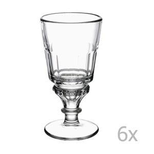 Sada 6 pohárov na stopke Absinthe, 300ml