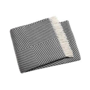 Sivá deka Euromant Tebas, 140 x 180 cm