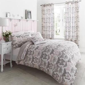 Obliečky Pastiche Butterflies Pink, 135x200 cm