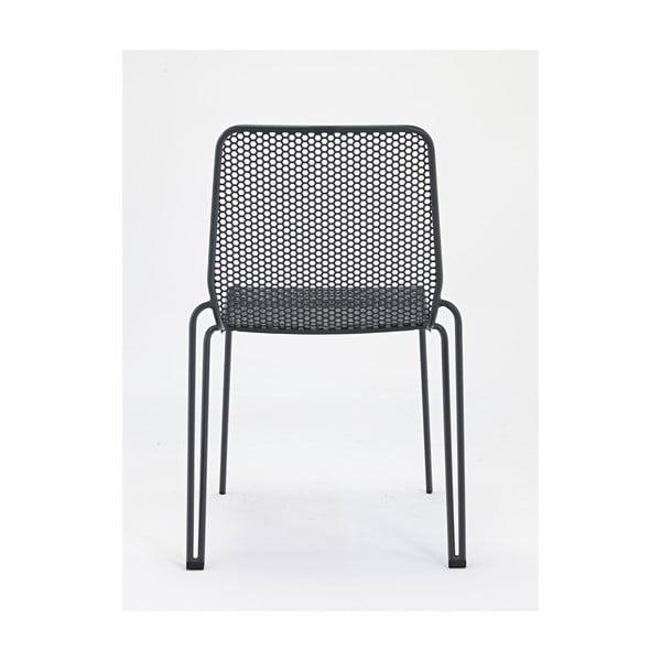 Sada 4 sivých záhradných stoličiek Ezeis Ambroise