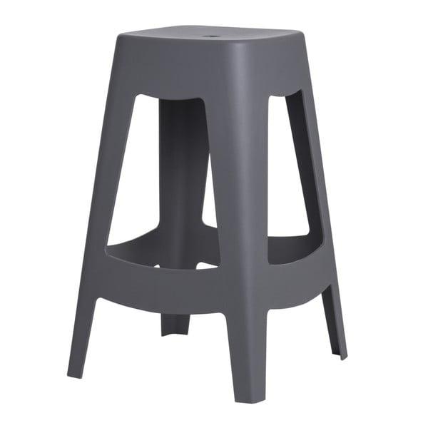 Sada 2 barových stoličiek D2 Tower,sivá