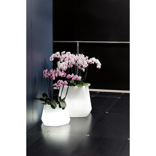 Svietiaci kvetináč Ops, 43 cm