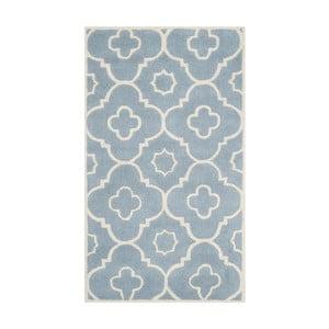 Vlnený koberec Alexa Blue, 121x182 cm
