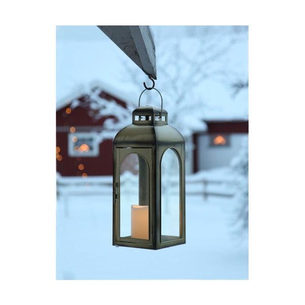Veľký bronzový LED lampáš Best Season Miriam