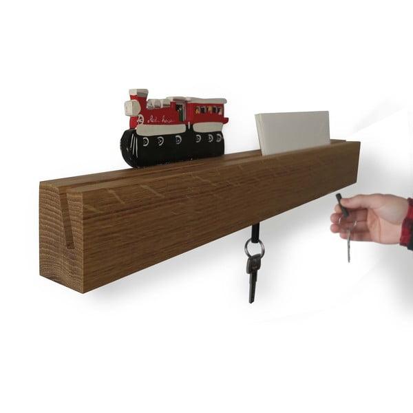 Držiak na kľúče Rail Chiaro, 70 cm
