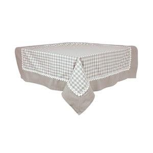Obrus Basic Hearts 160x250 cm, sivý