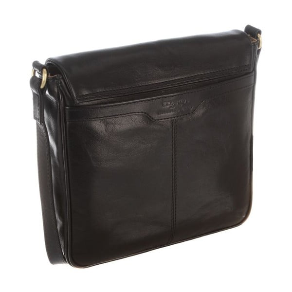 Kožená taška Nina Black