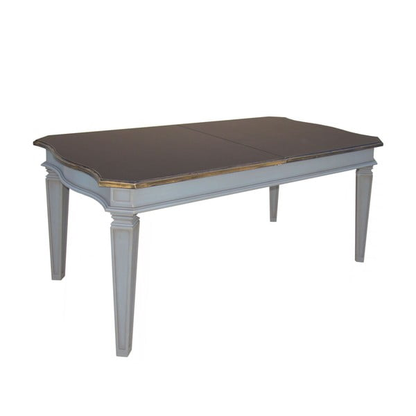 Rozkladací stôl Belgique Grey, 80 x 140-180 cm