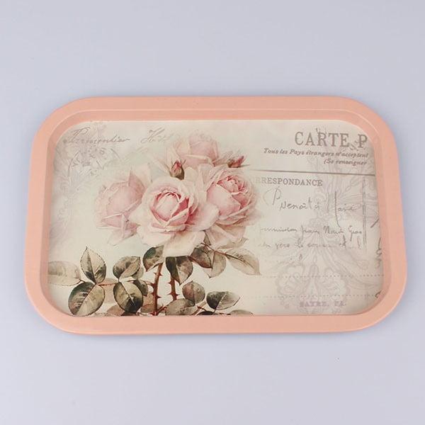 Plechový podnos Carte