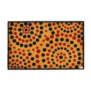 Rohožka Dots Natural, 50x70 cm