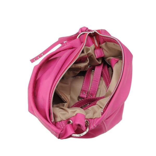 Kožená kabelka Agena, ružová