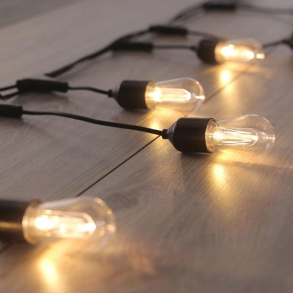 Dekoratívne svetielka DecoKing Bulb, dĺžka 8 m