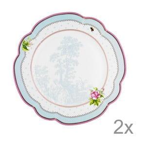 Porcelánový tanier  Lovely od Lisbeth Dahl, 29 cm, 2 ks