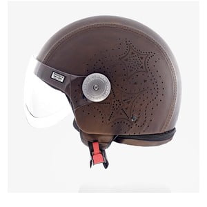 Helma Leather Laser Brown, veľ. S