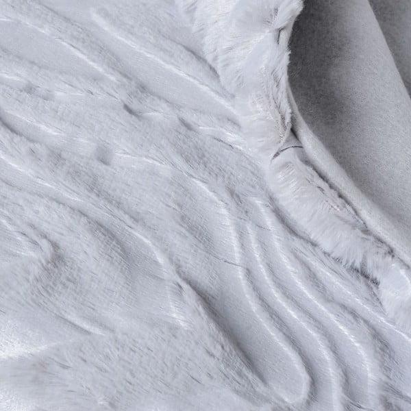 Prikrývka Woodie Grey, 130x170 cm
