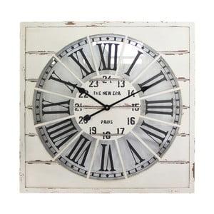 Nástenné hodiny White Vintage, 68x68 cm