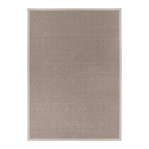 Béžový vzorovaný obojstranný koberec Narma Kalana, 70 × 140 cm