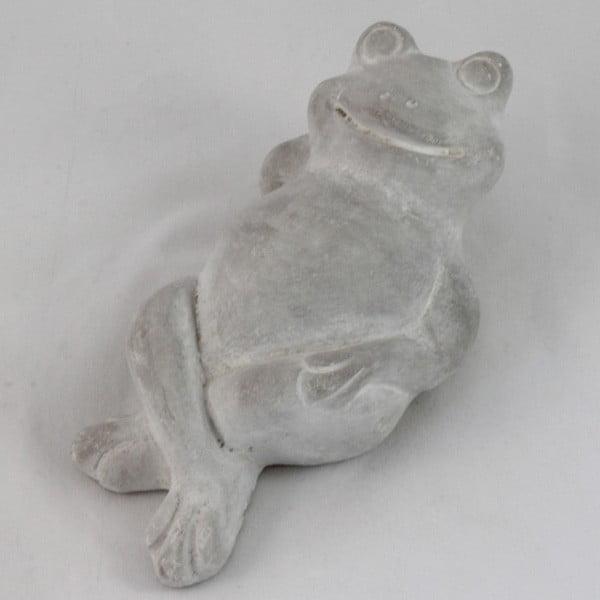 Betónová dekorácia Ležiaca žába