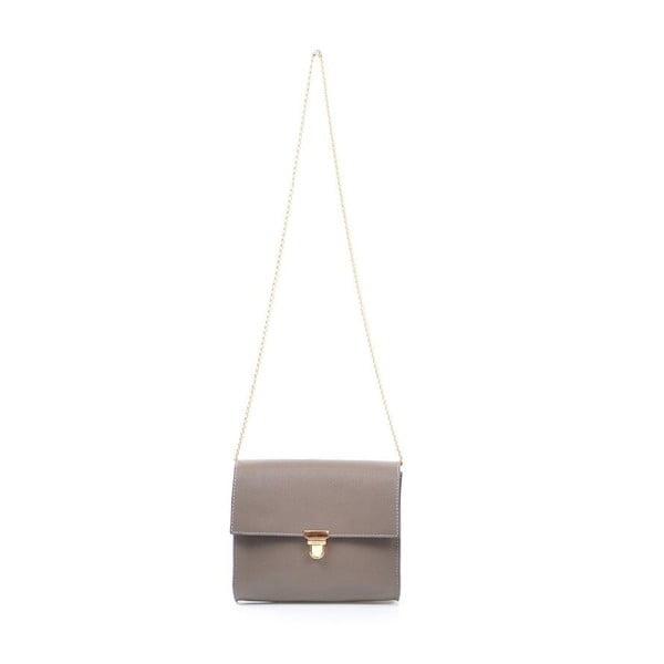 Kožená kabelka Jennifer, sivá