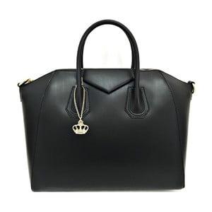 Kožená kabelka Tosca Black