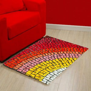 Vinylový koberec Mozaic, 52x75cm
