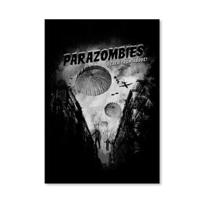 Plagát Parazombies od Florenta Bodart, 30x42 cm