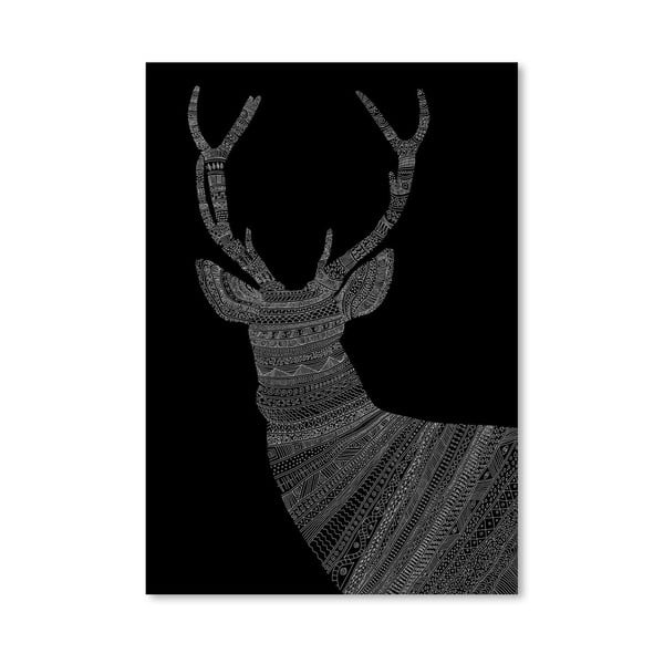 Plagát Stag 2 od Florenta Bodart, 30x42 cm