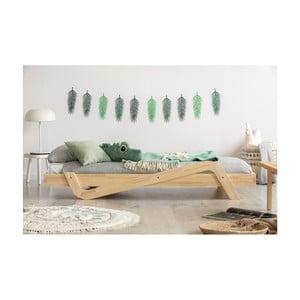 Detská posteľ z borovicového dreva Adeko Zig, 100×200 cm