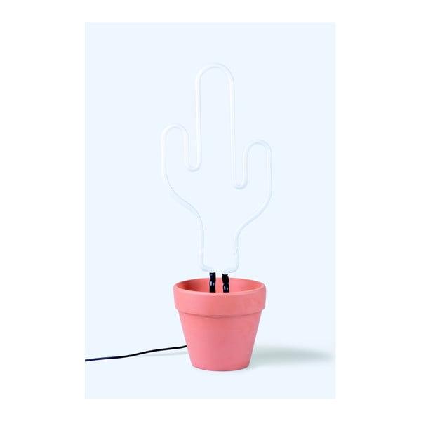 Neonová lampa DOIY Neon Cactus